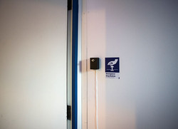 Automated locking system to allow entrance to the Public Toilet at Playbour