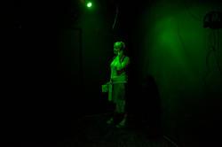 Marija Bozinovska Jones' Treebour, three-channel sound installation.