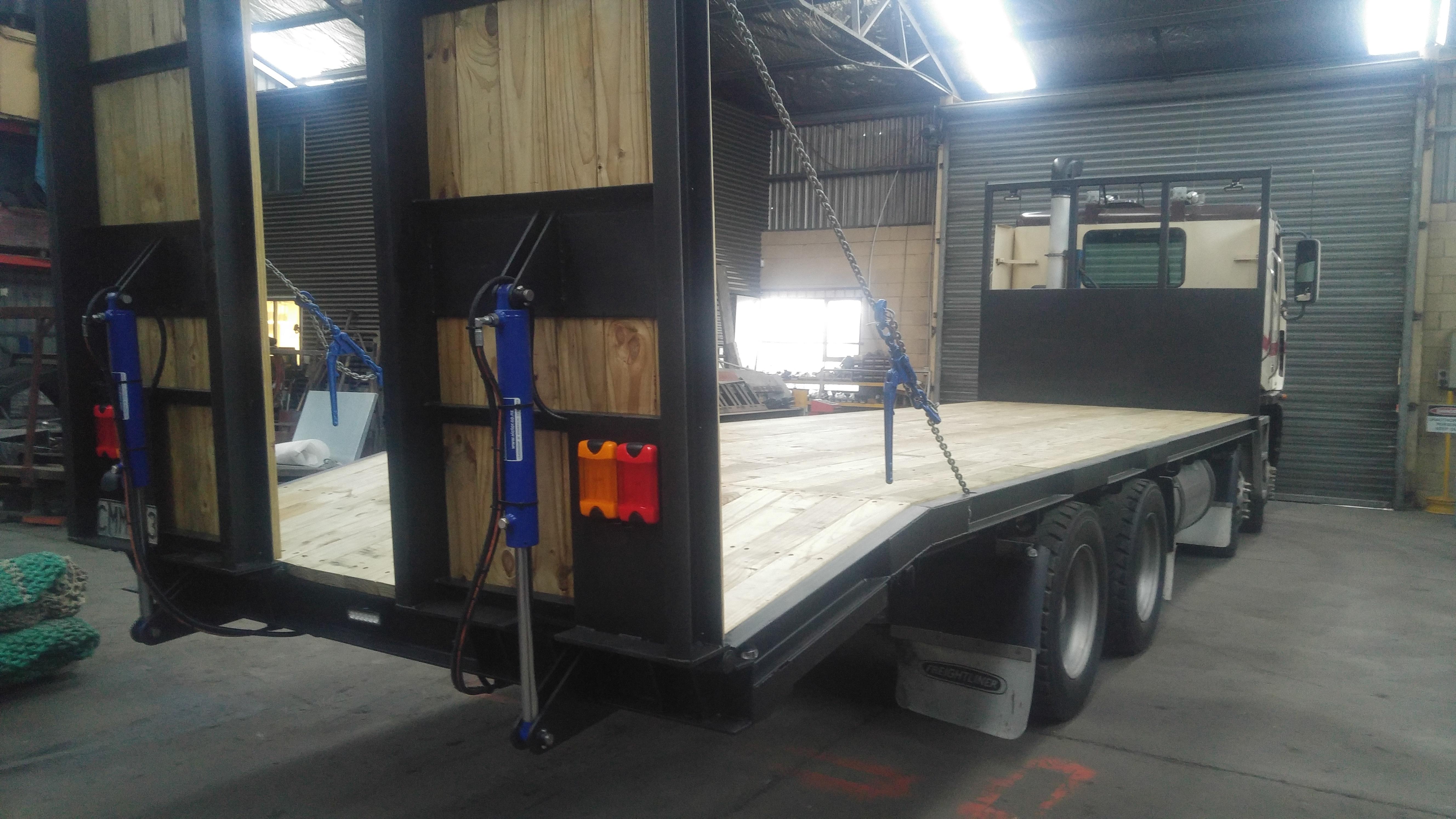 Custom Truck Deck