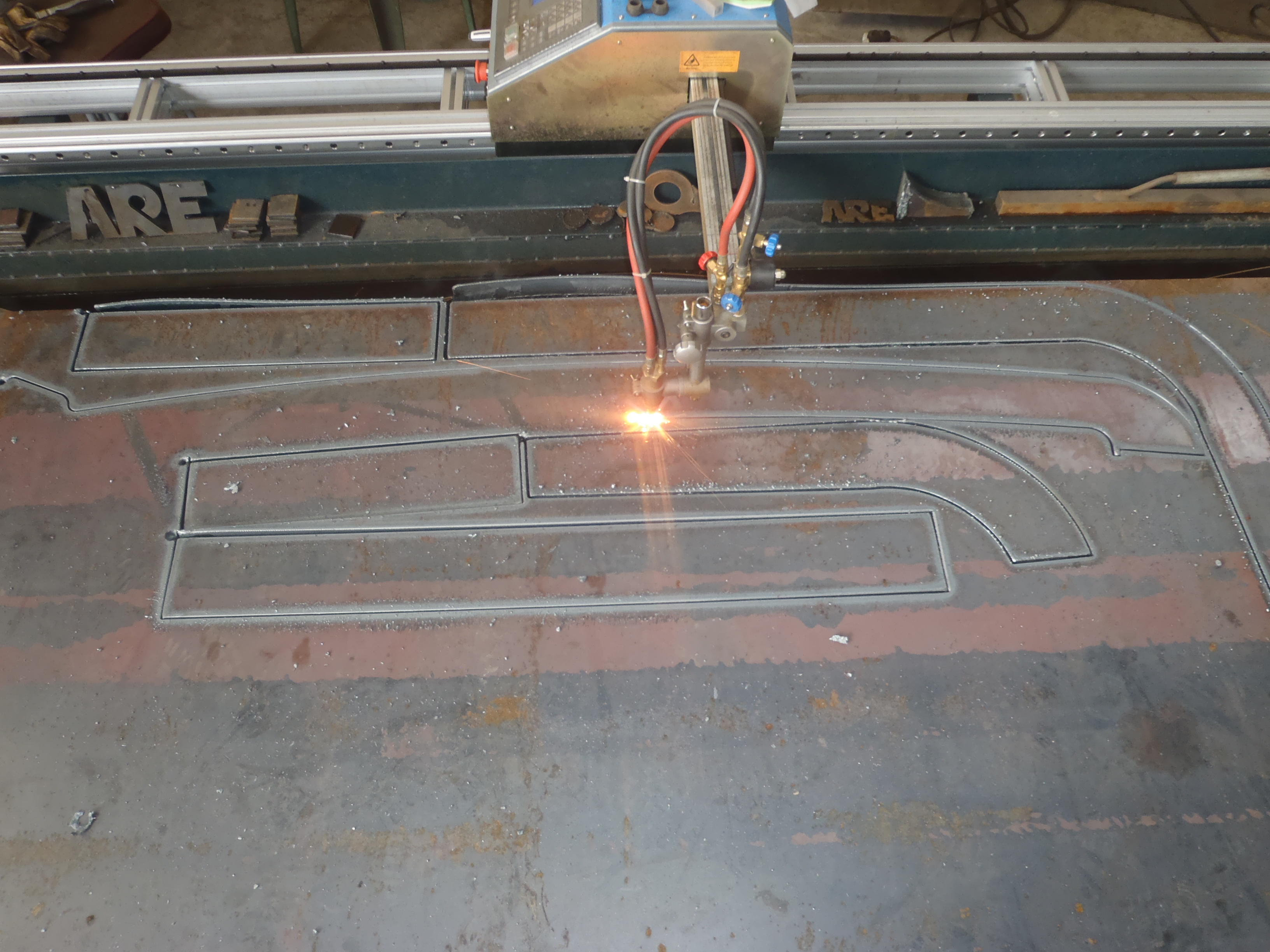 CNC Profile cutting