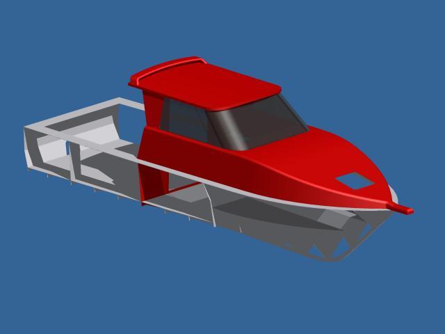8m boat