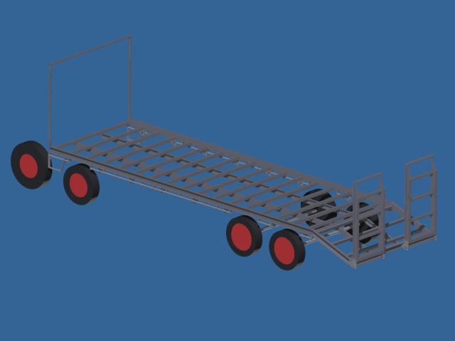 low deck trailer