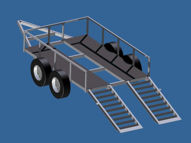 super light transport trailer