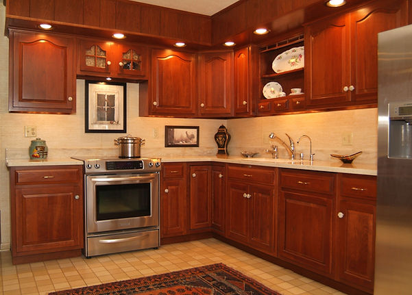 Custom Kitchen Cabinets Winchester Elwood McIntire