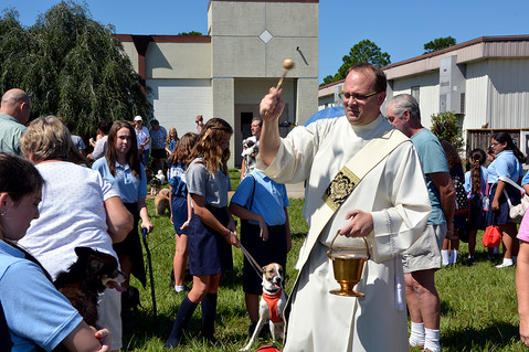 Blessing of the Pets & St. Francis Garden