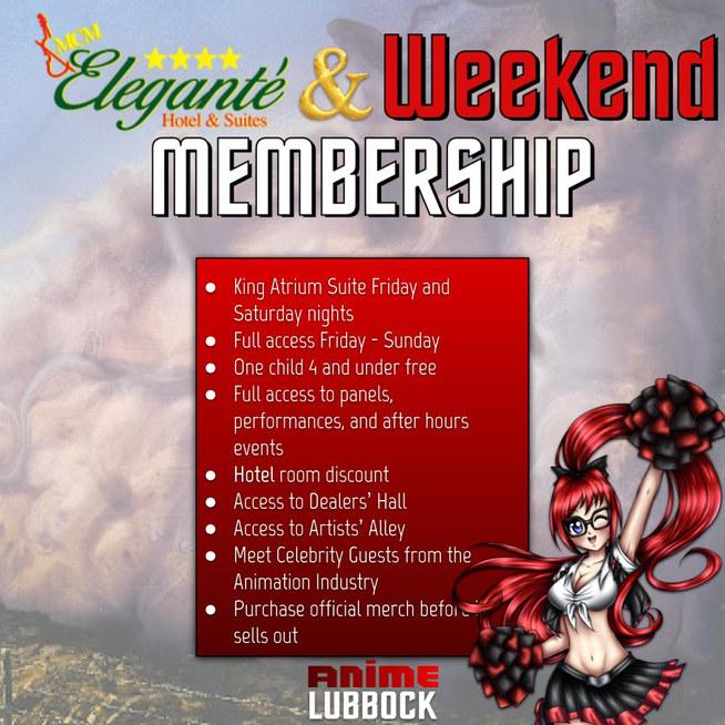 Hotel & Weekend Membership