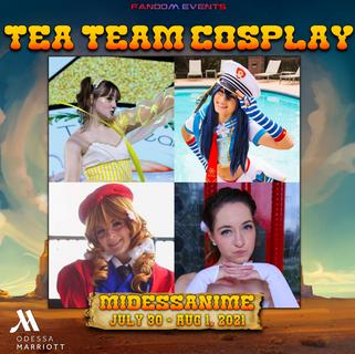 Tea Team Cosplay