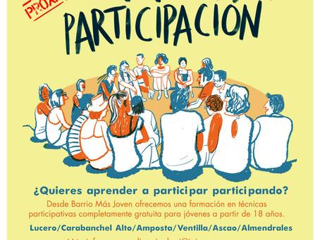 Curso Participación del Barrio Más Joven: ¿Aprender a participar? ¡Claro!