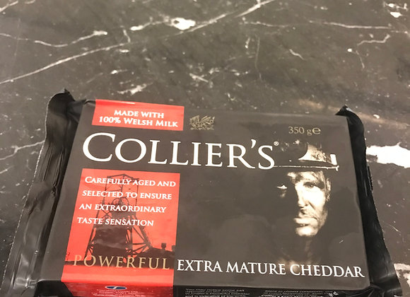Cheese, Collier's Mature Cheddar 350g