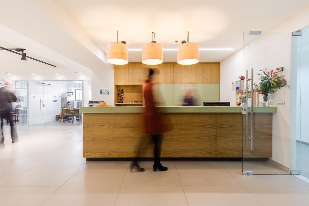 משרדי עולים ביחד | צילום: תמר אלמוג | תכנון: אבישג גורדין