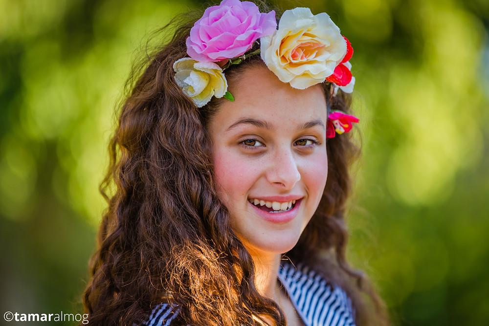 רוני בת 12 | בוק בת מצווה | צילום: תמר אלמוג