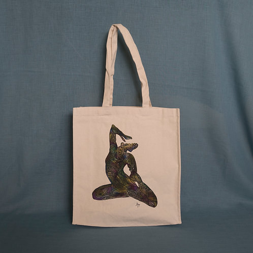 Rhythm of Time Canvas Bag