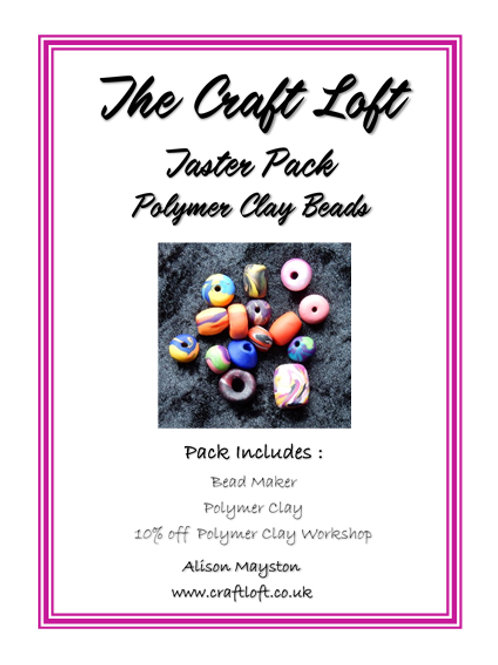 Polymer Clay Bead Making Pack