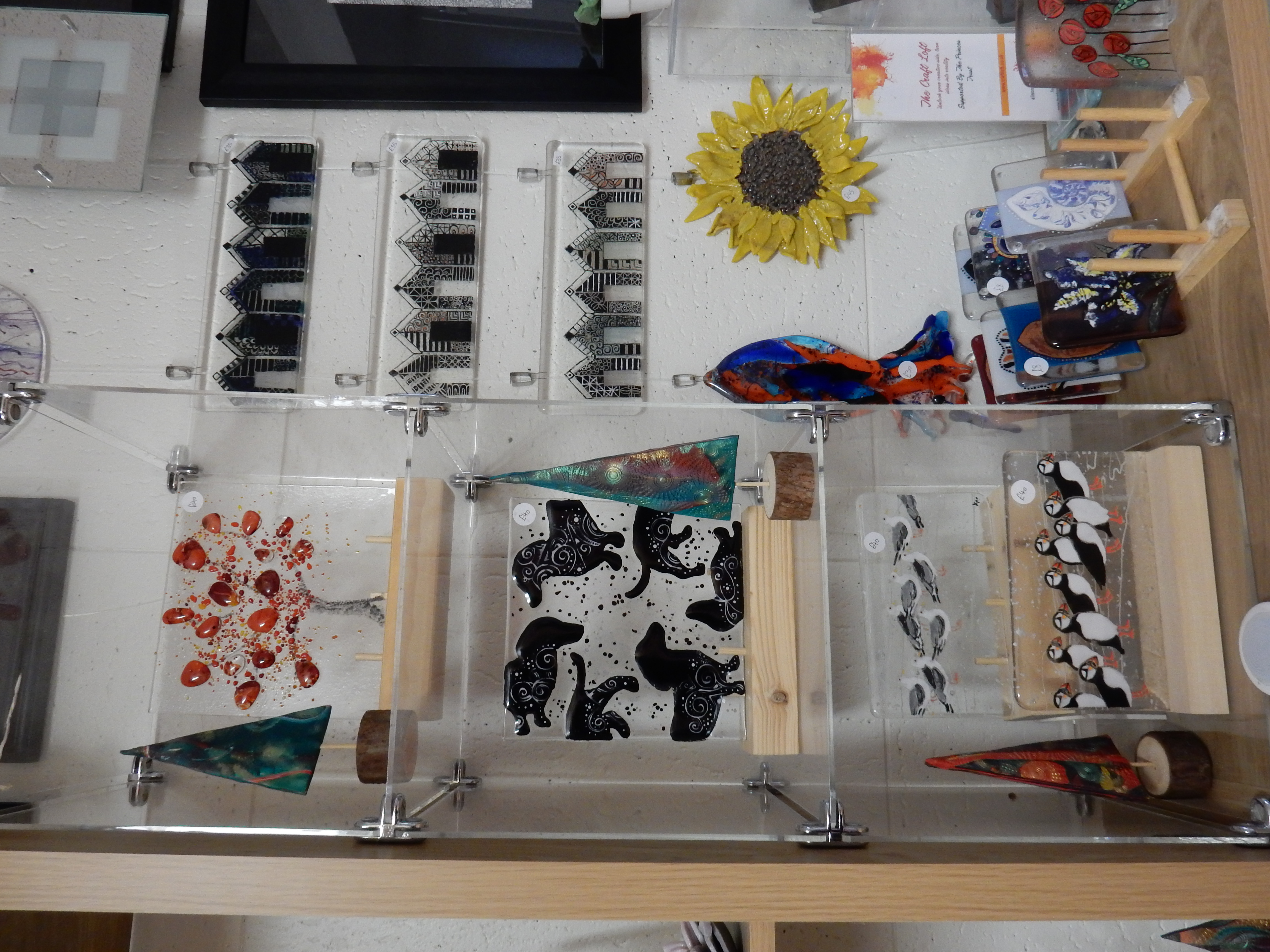 Fused Glass work
