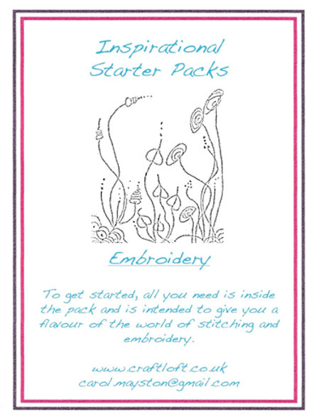 Inspirational Packs : Embroidery