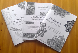 All 3 Zentangle books by Alison Mayston
