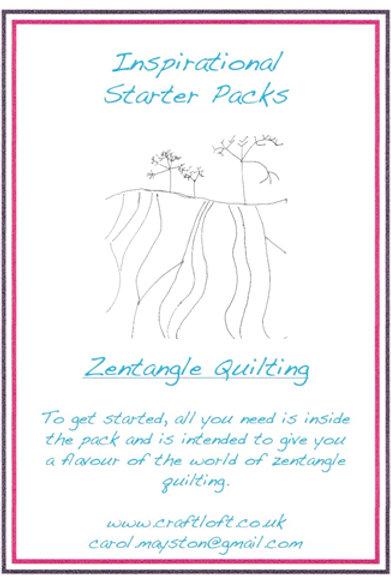 Inspirational Packs : Zentangle Quilting