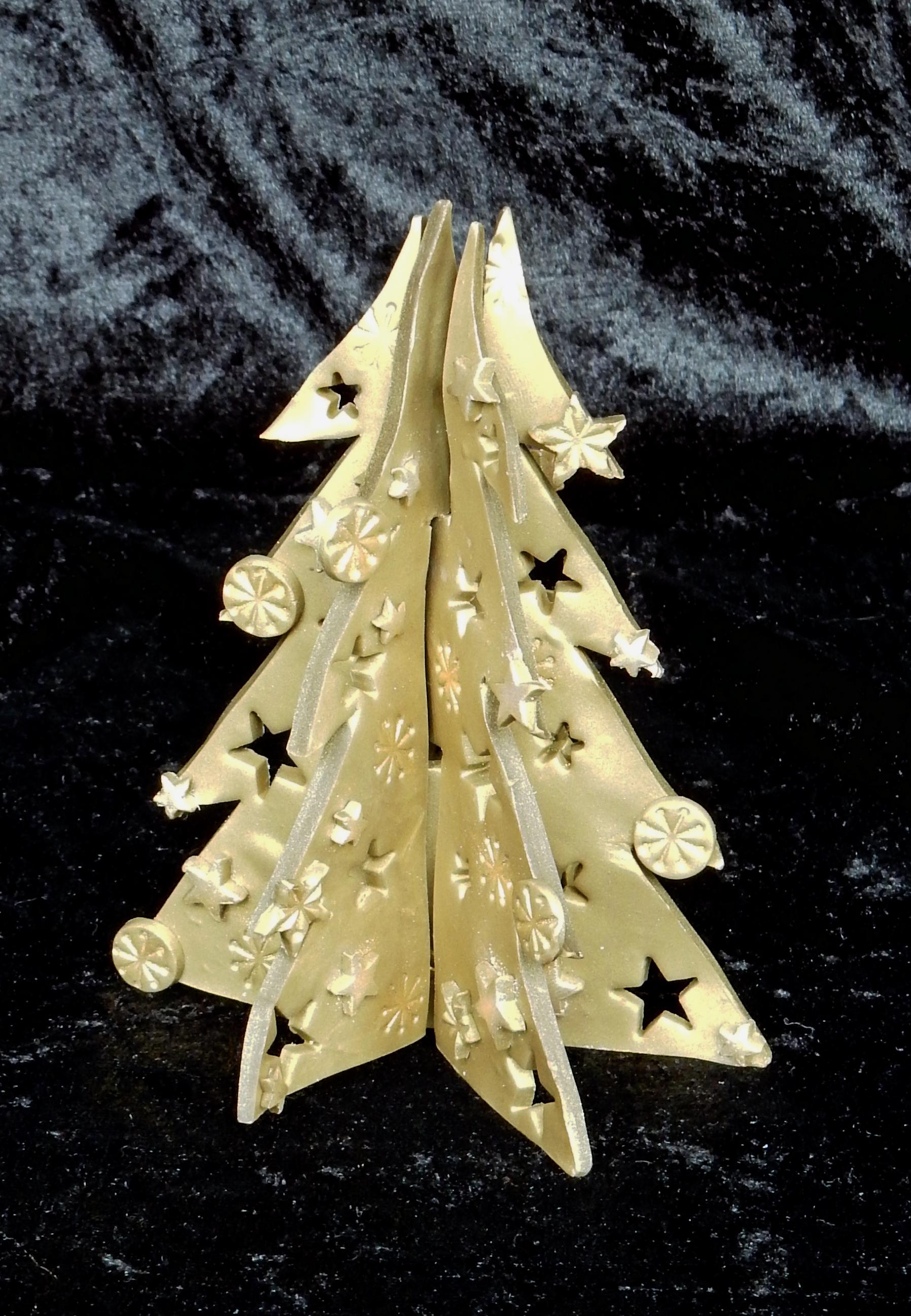 christmas polymer tree