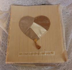 Heart Wedding Journal