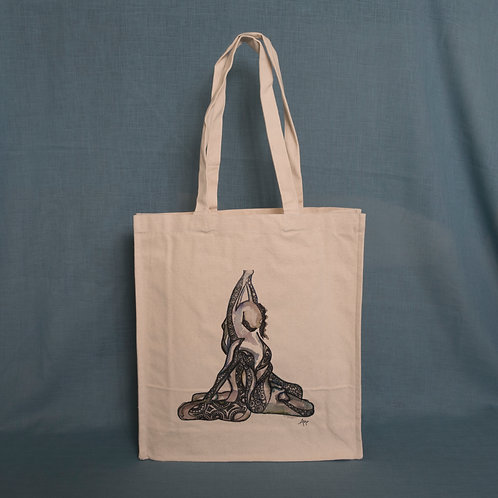Reaching Out Canvas Bag