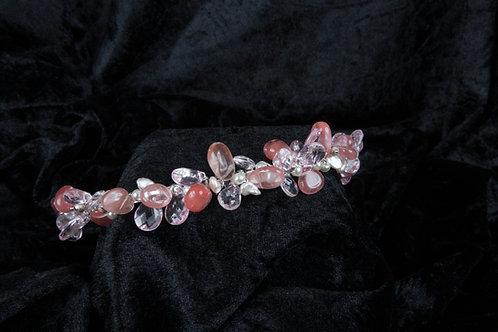 Pink Bridesmaid Tiara