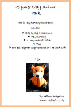 Polymer Clay Pack Fox