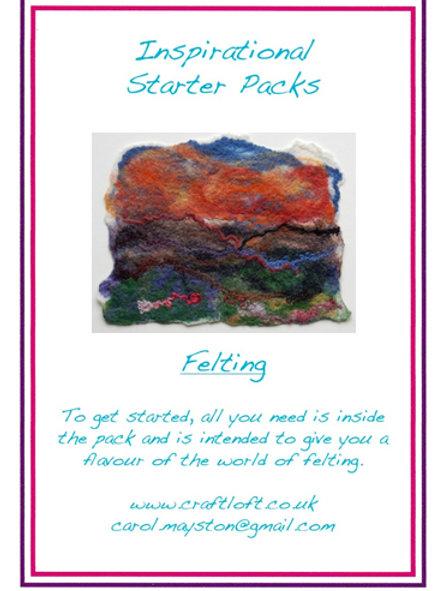 Inspirational Packs : Wet Felting Making