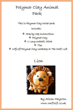 Polymer Clay Pack Lion