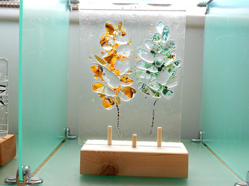 Glass Pebble trees