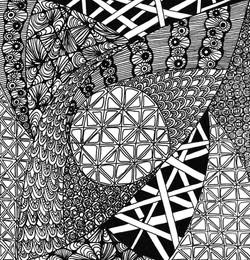 zentangle tile basic pack