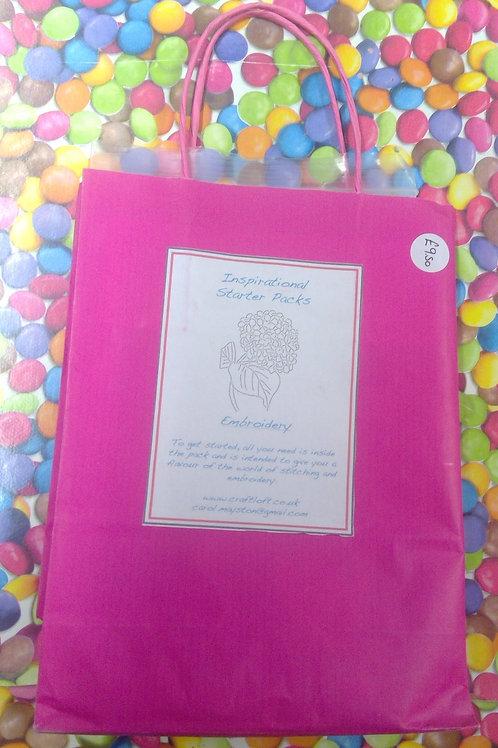 Inspirational Packs :Embriodery Dahlia