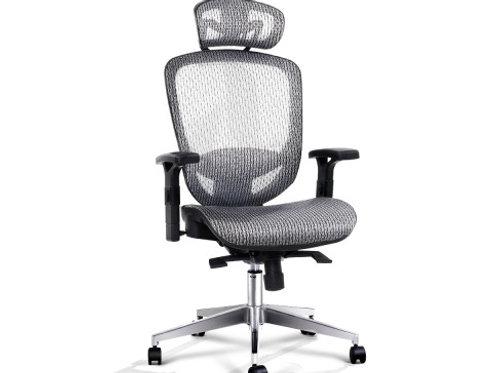 Computer Chairs Mesh Net Seating Grey