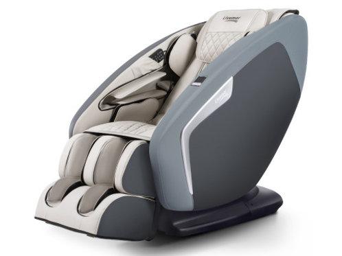 Livemor 4D Electric Massage Chair Shiatsu SL Track Full Body 52 Air Bags