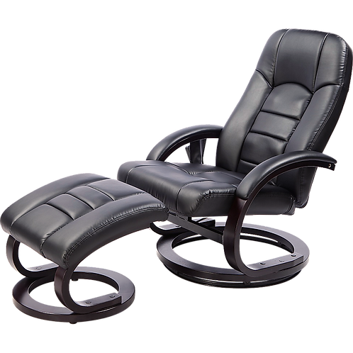 PU Leather Deluxe Massage Chair