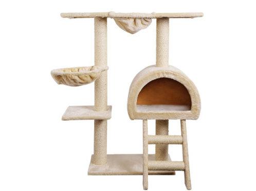 Scratcher Tower Condo House Furniture Wood Beige