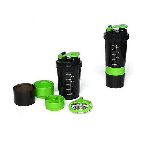 2x Protein Gym Shaker Premium 3 in 1 Smart