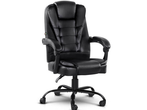 Office Chairs PU Leather Recliner