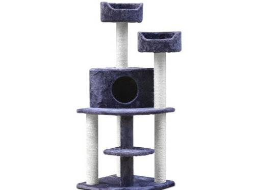 i.Pet Cat Tree 126cm Trees Scratching Post
