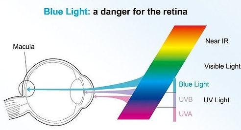 Blue Light: a danger of retina