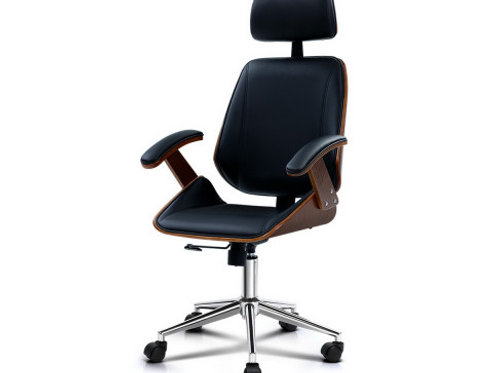 Artiss Wooden Office Chair Computer