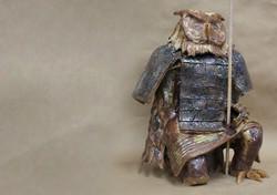 Terra Cotta Warrior Owl