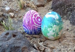 Ukrainian egg decorating (pysanky)