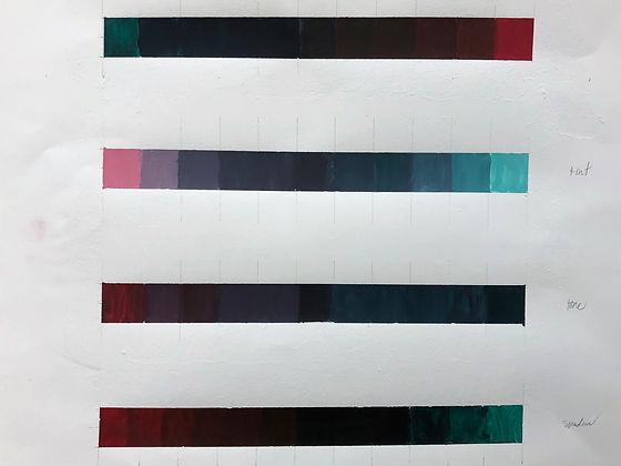 Tint, Tone, Shade Chromatic Scale Final
