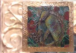 Armadillo Copper Repousse