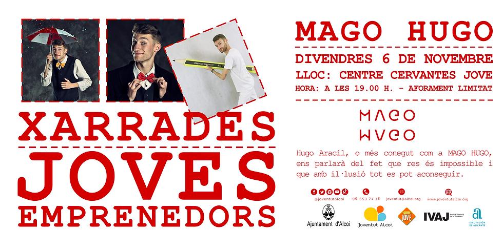 """XARRADES JOVES EMPRENEDORS """"Hugo Aracil"""""""