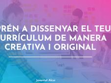 Taller online interactiu: APRÉN A DISSENYAR EL TEU CURRÍCULUM DE MANERA CREATIVA I ORIGINAL