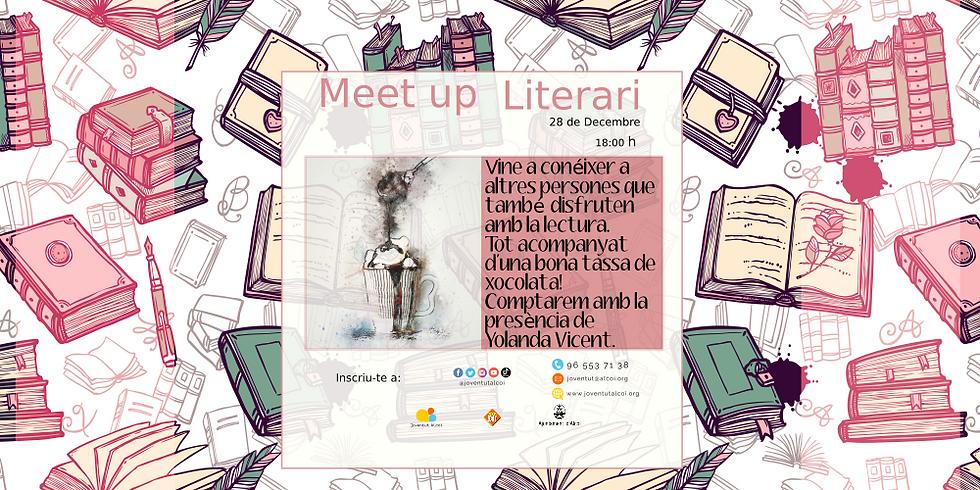 MEET UP LITERARI, amb la participació de Yolanda Vicent