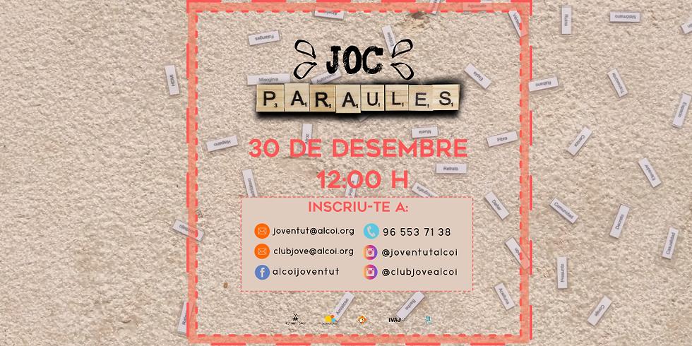"""JOC """"PARAULES"""""""
