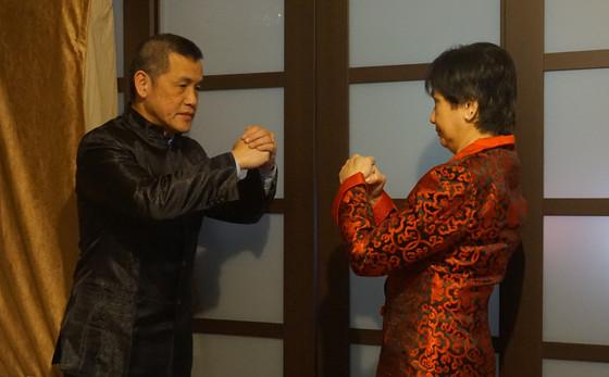The Kung Fu Hand Salutation