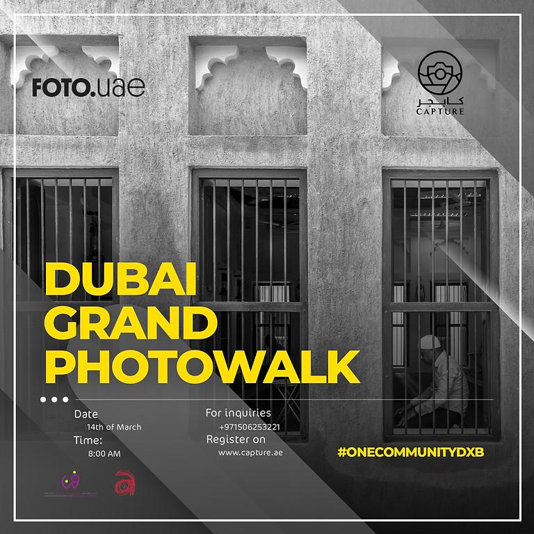 The grand Photowalk #onecommunitydxb